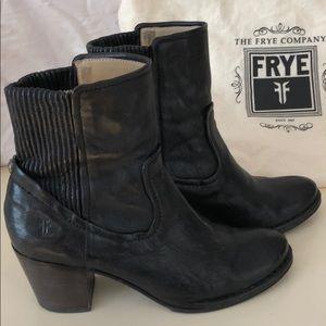 Black Frye Boot Short